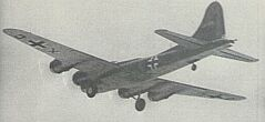 B 17 F capturé