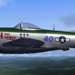 FSX Republic p-47 thunderbolt