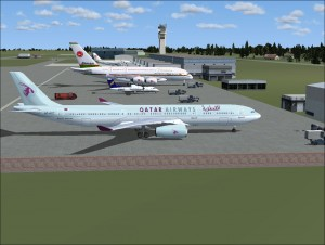 FSX Scenery Zia International Airport Dhaka Bangladesh