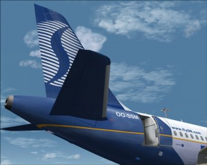 Airbus A319 FSX Brussels Airlines