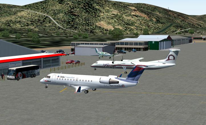 FS2004 Scenery Friedman Memorial Airport