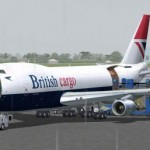 Boeing 747 200 in British Airways livery