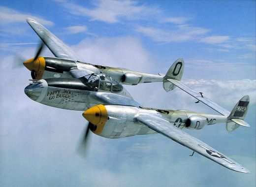 p38-lightning - Lockheed P-38 Lightnin