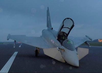 eurofighter-typhoon-crash-allemand-californie-tarmac