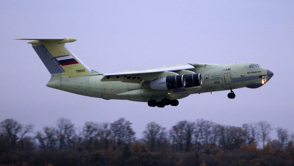 Il-76MD-90A réalise son premier vol