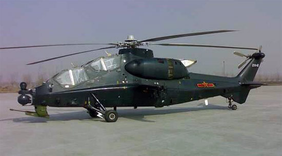 helicoptere-militaire-chinois-wz10