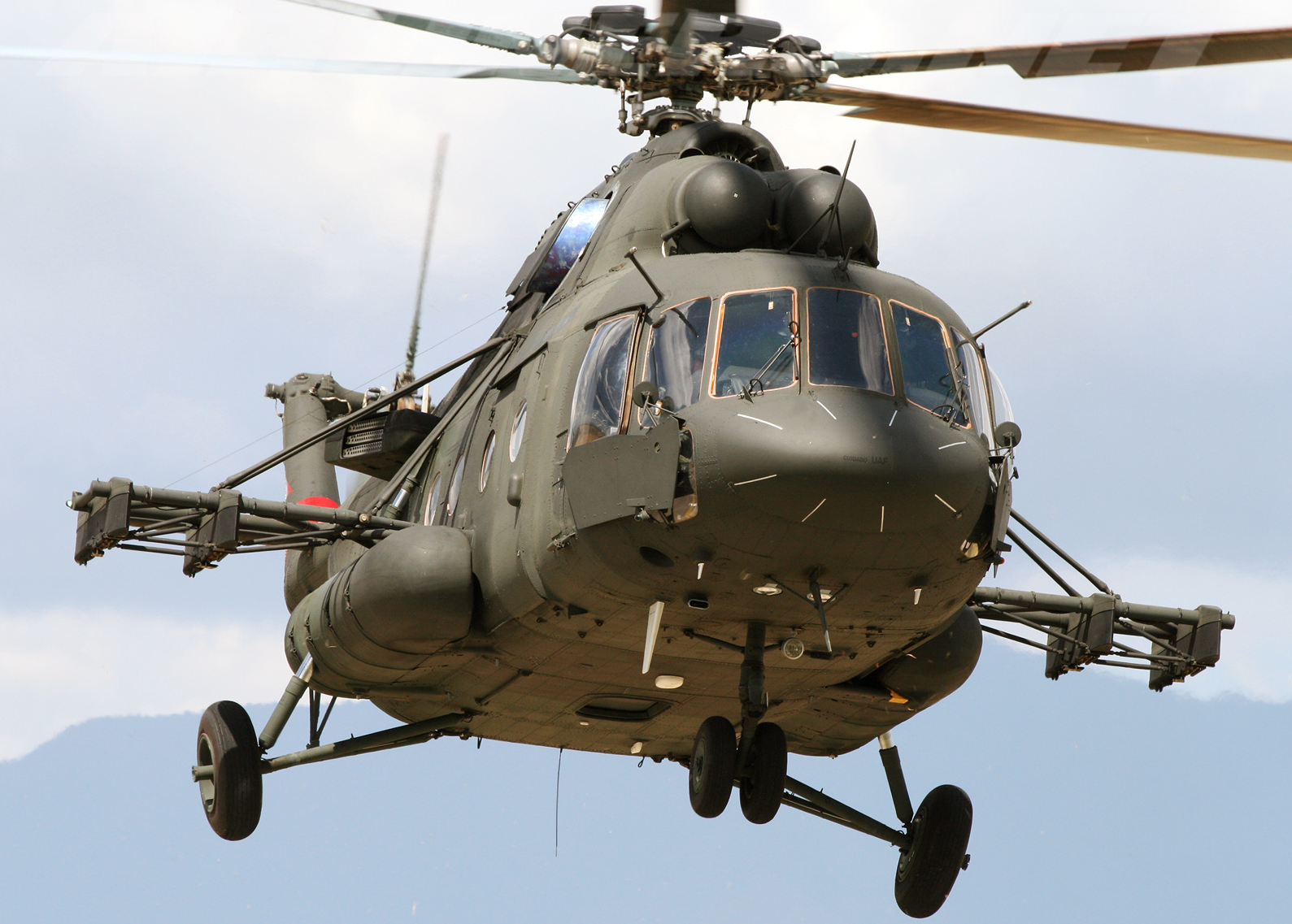 helicoptere russe MI-17 V-5