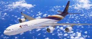 Avion de la compagnie Thai Airways