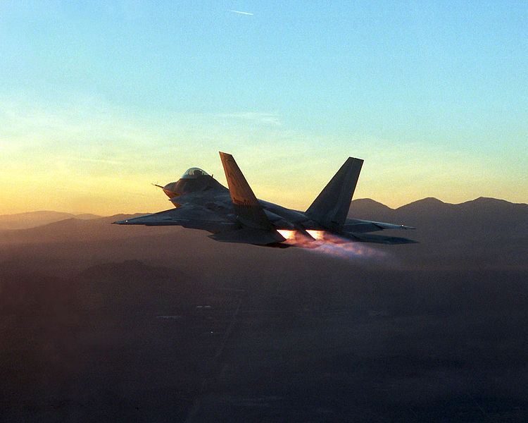 F-22 postcombustion