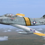Le F-86 Sabre « Darling Dottie » du Major John Bolt pour FS2004