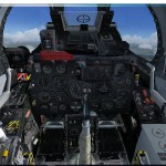 Le North American F-86F Sabre FU-385 USAF Wolfhounds pour FSX